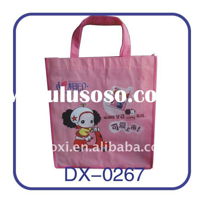 Customized promotional laminated non woven bag