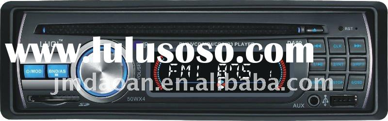 DA99 2011 hot sell car audio dvd player support MP4 MP3 WMA with USB SD port