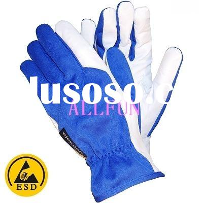 ESD Leather Work Gloves