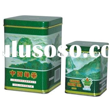 EVER-GREEN Chunmee green tea in landscape tin (100g/300g )