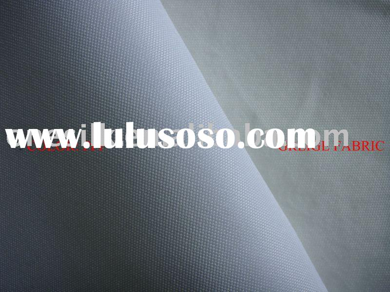 Fire retardant(NFPA 701)/PU coated 300D polyester oxford fabric