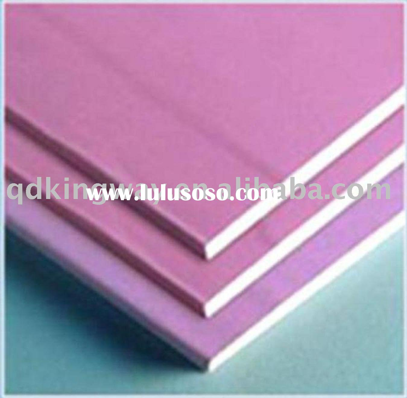Fireproof Gypsum (Plaster) draywall or Ceiling Board