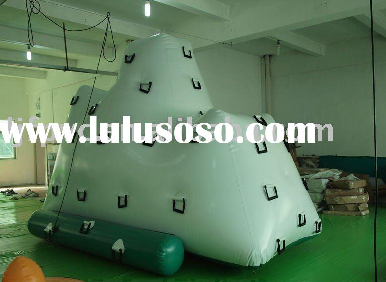 Floating iceberg,inflatable water games, 2010 TOP1 white water climbing,funny game product,inflatabl