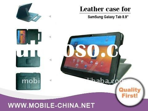 For 8.9 inch samsung galaxy tablet leather case