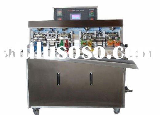 Fruit juice bag filling sealing packaging machine