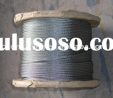Galvanized Aircraft Cable,MIL-W-83420E/MIL-W-1511A Standard