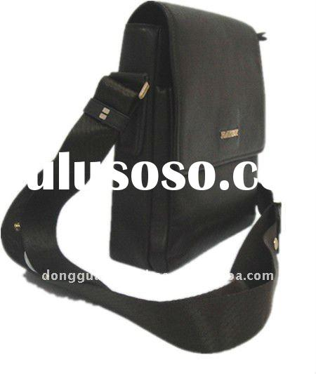 Genuine leather deluxe messager bag