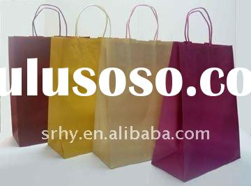 HP-1108 craft paper bag for shopping bag
