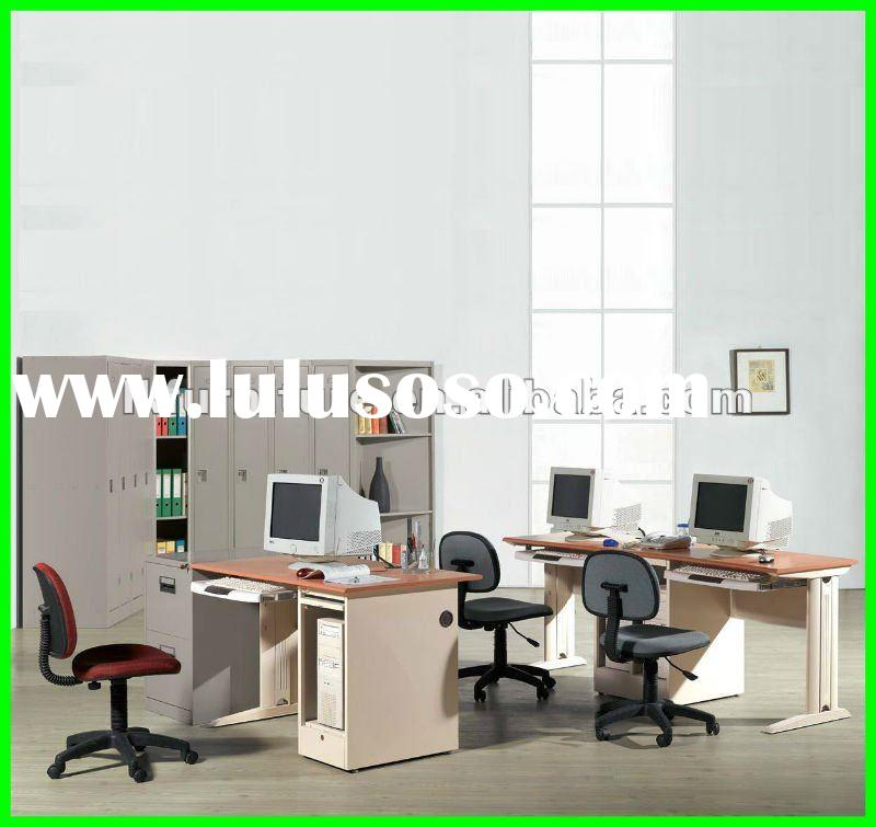 High Quality Office Metal Computer Desk With CPU Shelf AS08