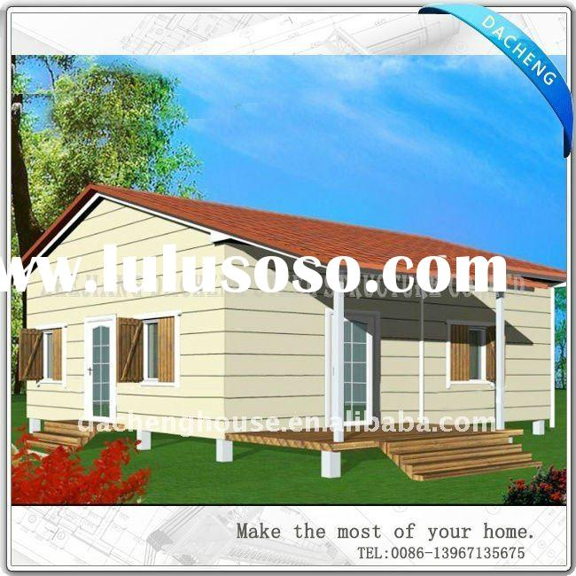 High Quality Small Elegant Low Cost Light Steel Structure Prefabricated Homes From China