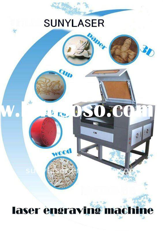 High precision CO2 laser machine for various nonmetallic materials