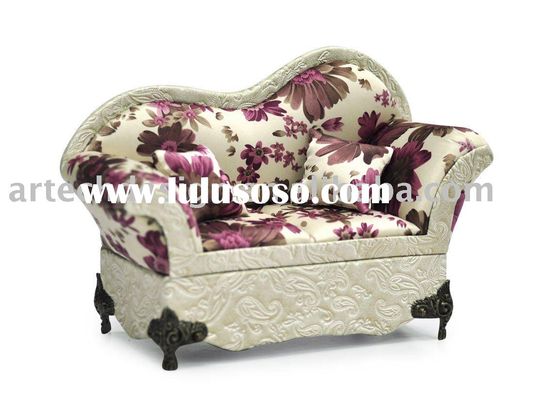 Sap c chaise lounge velvet sofa jewelry box for sale for Chaise jewelry box