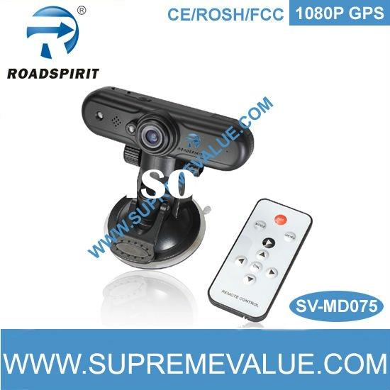 Hot! Full HD 1080P Car black box camera with GPS