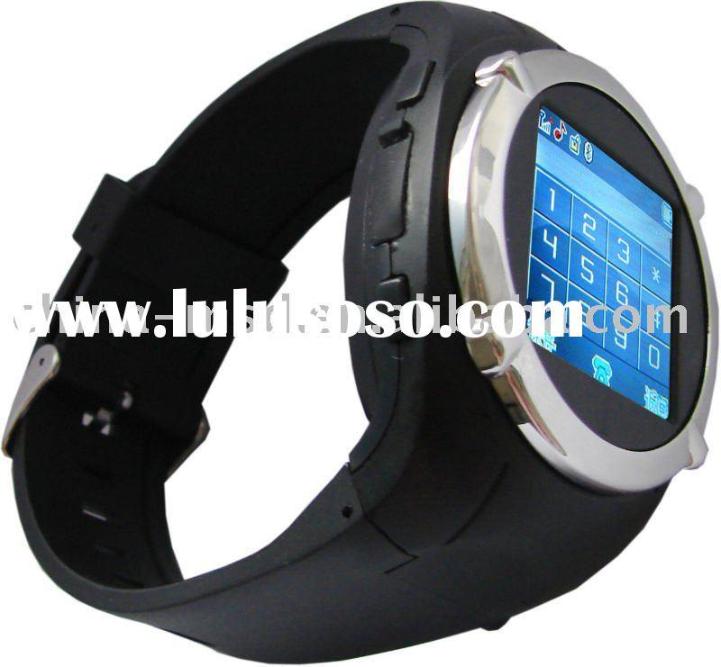 Hot Selling Sport Watch Mobile Phone with FM Radio+Camera+MP4 Player