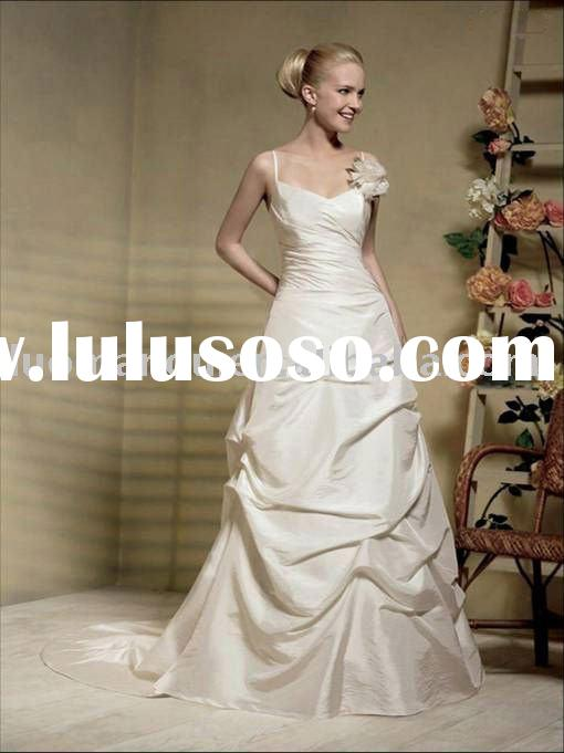 Hot sell Elegant Stomacher Satin First Communion Dress