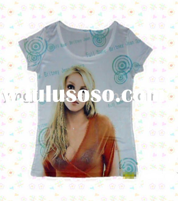 Hottest sell new style Ladies' fashion t shirt 2011