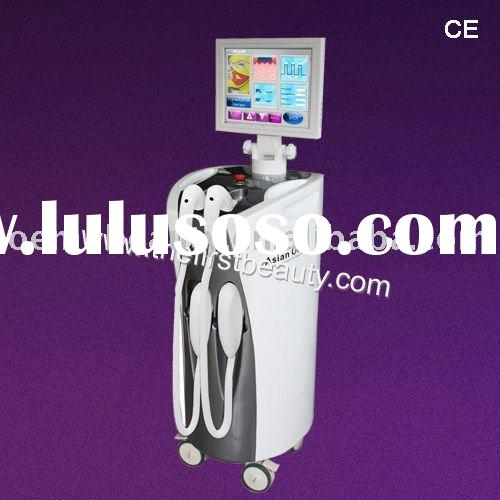 IPL&808 Diode Laser 2011 new Asian one CE IPL beauty center equipment laser machine for hair rem