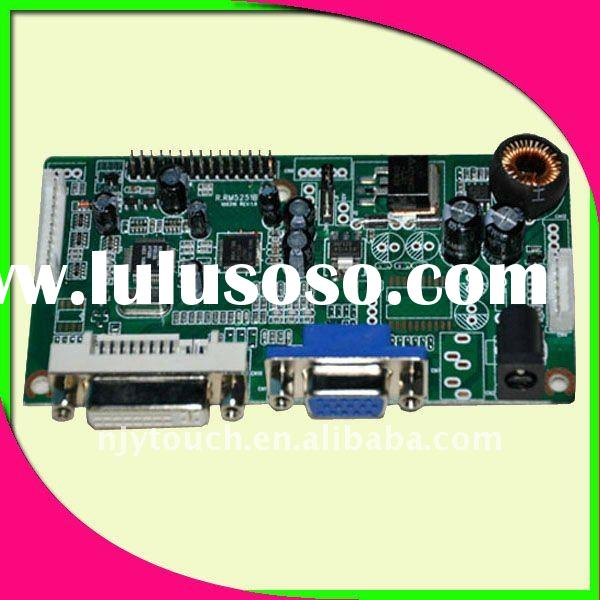 LCD controller circuit board with DVI