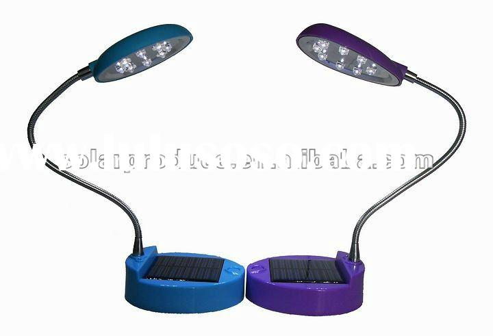 LED solar reading lamp/solar table lamp/solar power products