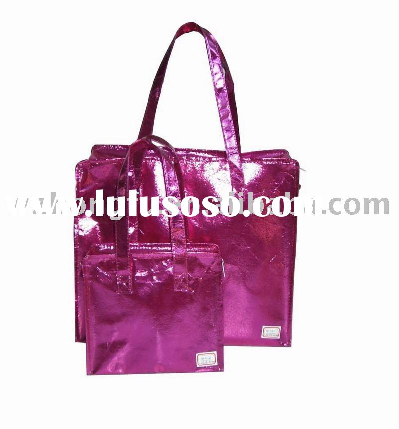 Laminated Nonwoven Shopping/Travel Bag