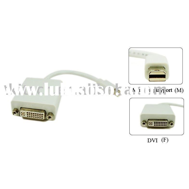 Mini Display Port to DVI Adapter Cable