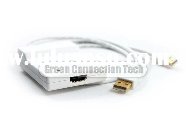 Mini Display Port to HDMI with audio converter
