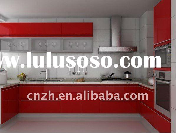 Modern style for kichen cabinet(acrylic/crystal door panel for kitchen cabinet door panel)
