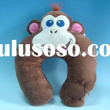 Monkey Shaped Pillow with Speaker