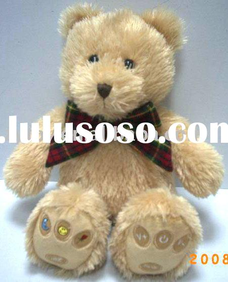 Mp3 plush bear,soft toy,stuffed toy
