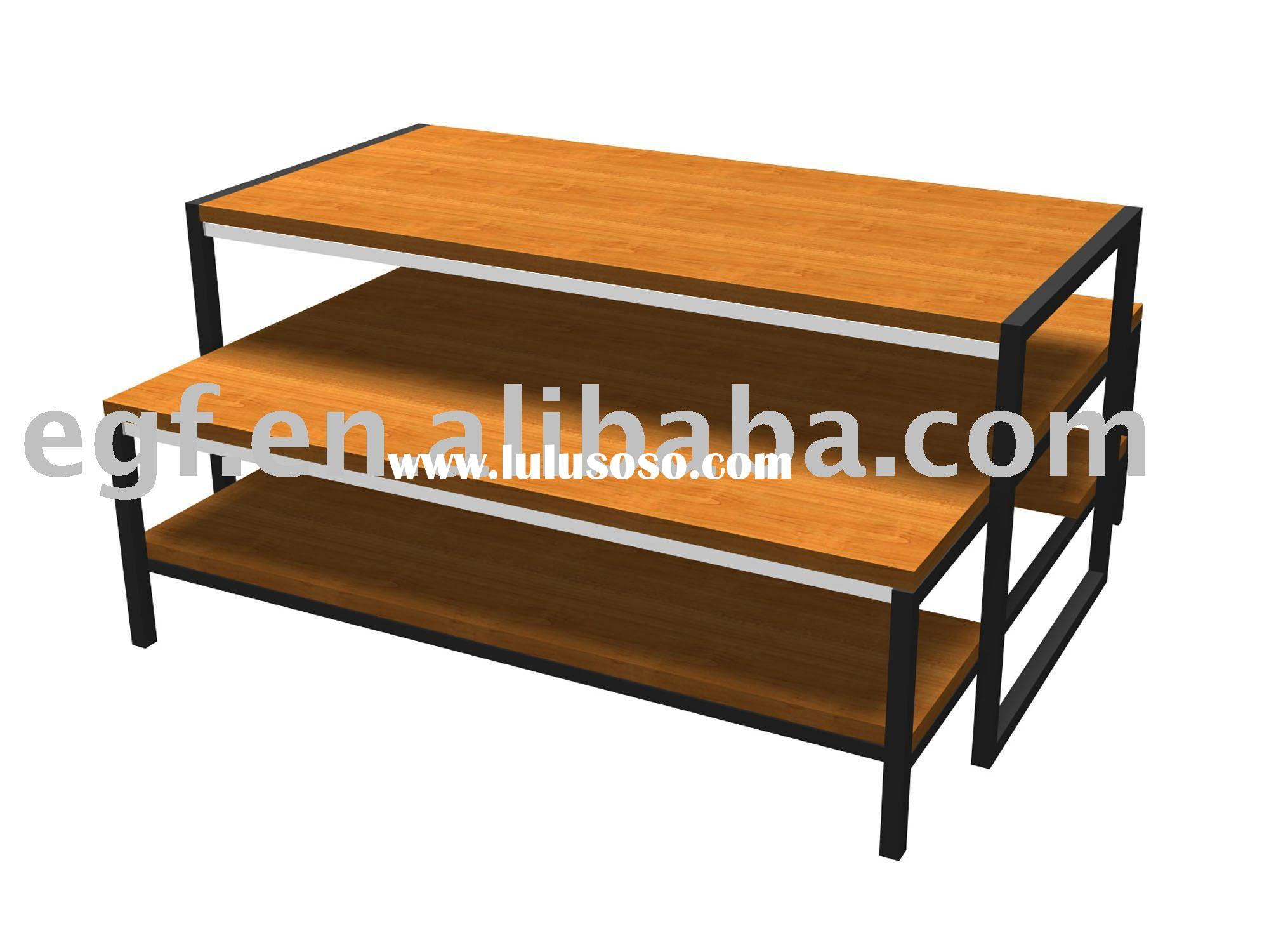 Nesting Display Table / Wooden Display Table / Nested Table. Full resolution  photo, nominally Width 2000 Height 1500 pixels, photo with #AF651C.