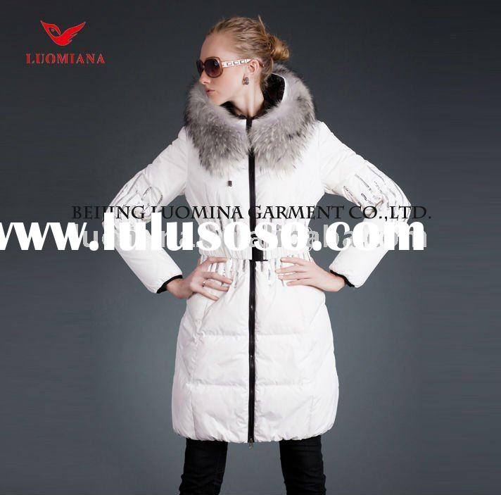 New Conception Women Long Down Winter Jackets in 2011-2012