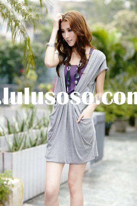 New Design Fashion Lady Casual Dress 2011