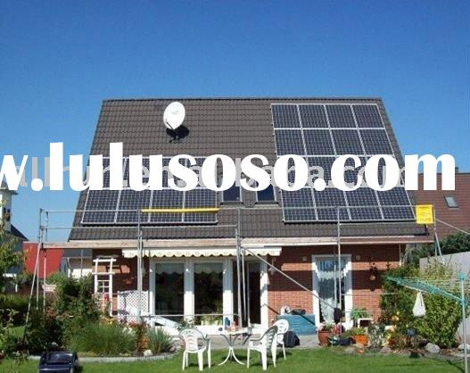 PROMOTION PRICE 2011 new design high efficiency solar system for home using
