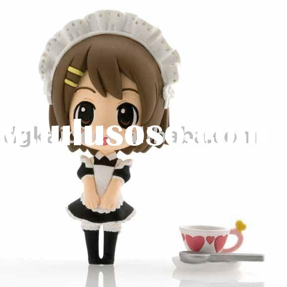 Plastic Super Cute Cooking girl Action Figurines