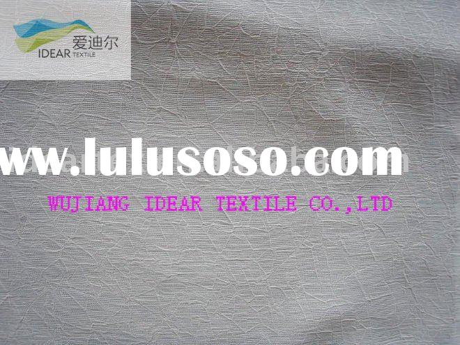 Polyester Crinkled Chiffon Fabric