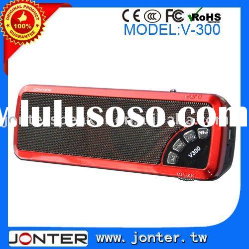 Portable Mini Mp3/Car Speaker Jonter V300