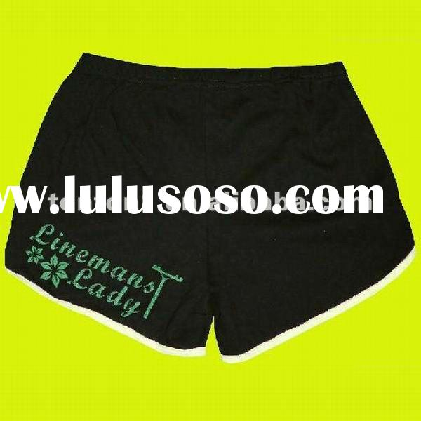 Professional custom design ladies running shorts
