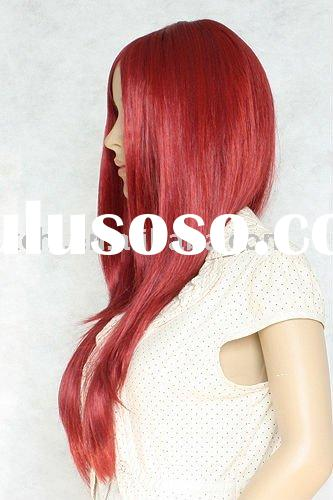 Red fashion cosplay wigs