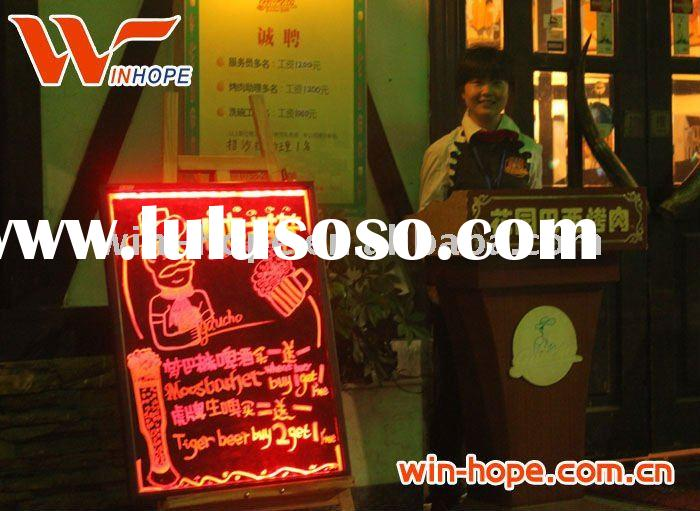 Remote control outdoor led advertising board 40*60,50*70,60*80 cm etc.