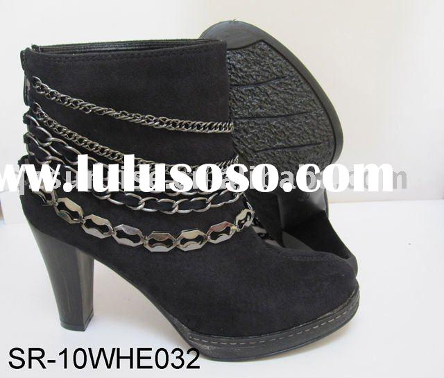 SR-10WHE032-Hot selling ladies high heel roman fashion ankle boots
