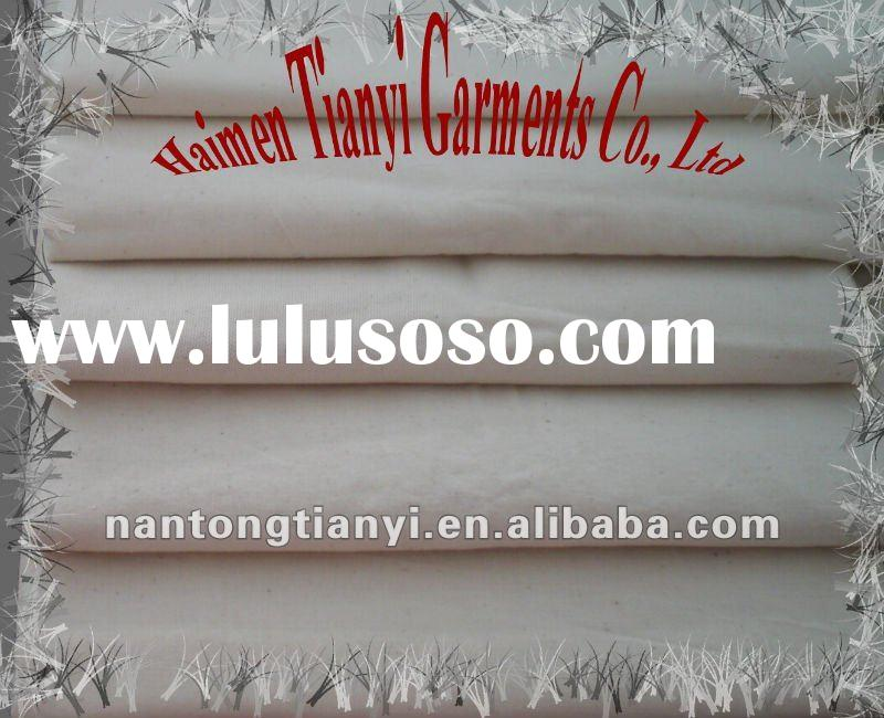 Stock cotton grey fabric