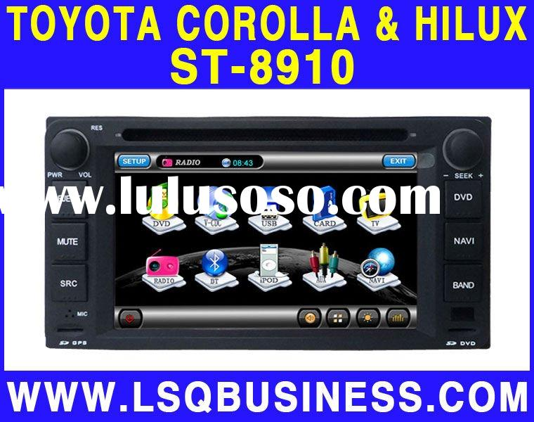 Toyota Hilux Car dvd player with GPS,Bluetooth,IPOD,USB,TV,Radio,PIP,6V-CDC and Wheel Steering Contr