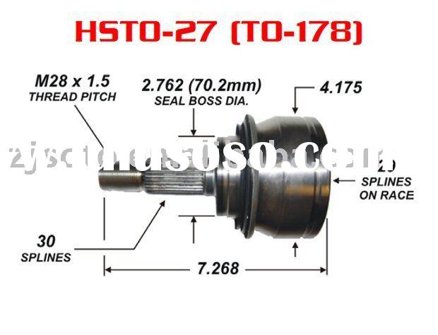 Toyota parts - Toyota auto parts - Toyota cv joint - Toyota axles - Toyota Tacoma(4WD) c.v. joint pa