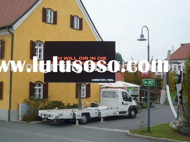 Truck Mobile Advertising LED Display