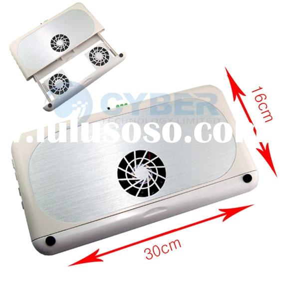 USB 3 Fan Cooling Cooler Pad Laptop Notebook Stand