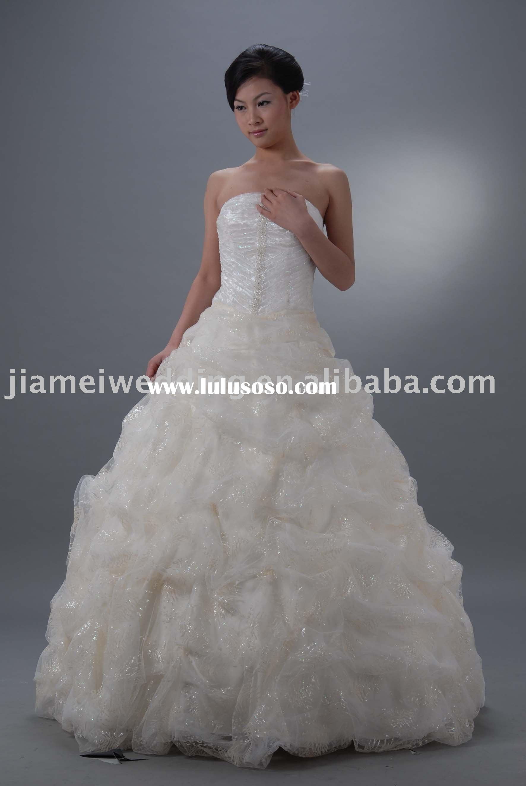 Wedding dress ball gown, new fashion