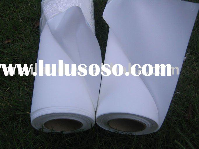 White Cotton Canvas for Inkjet Photo Printing (110G) 100% Polyester& Inkjet Cotton Canvas&so