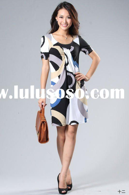 Wholesale Fashion Womens Casual Dresses