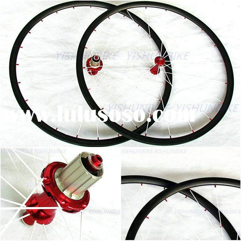 YP24 mm carbon wheels with powerway hub, carbon fiber tubular wheels, carbon road bike wheels, racin