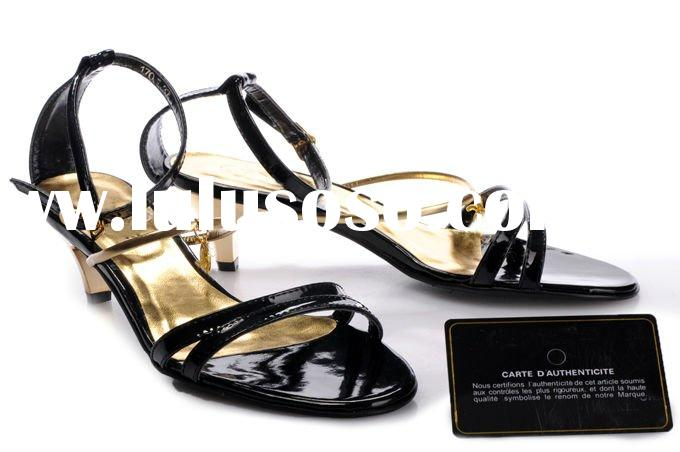 accept paypal,hot selling wholesale latest sandals for women 2011